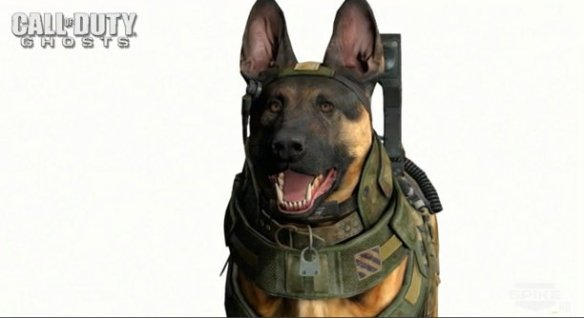Call of Duty Ghost Dog