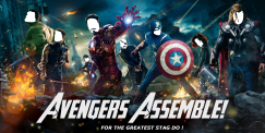 Avengers Assemble invite