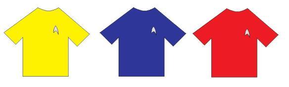 Tshirt star trek