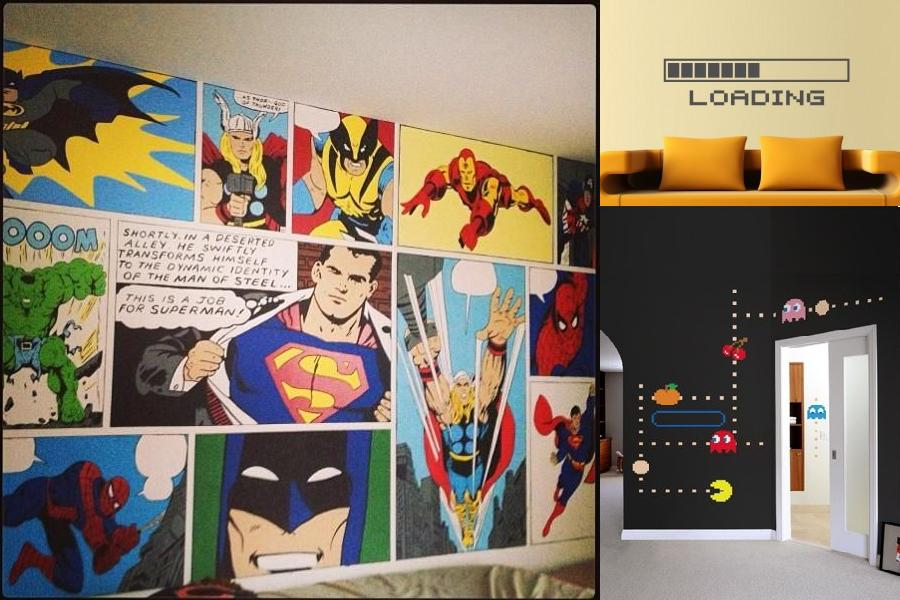 nerd design ltd nerd eyes only com & Nerd Design Ltd Nerd Eyes Only Com #096 Comic Wall Stickers - Wall ...