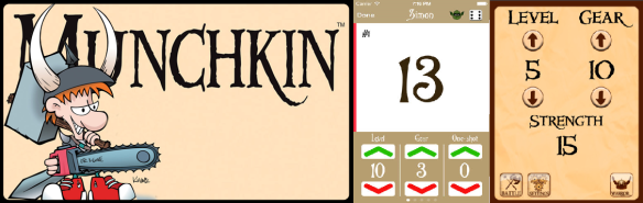 Munchkin Level Counter Banner
